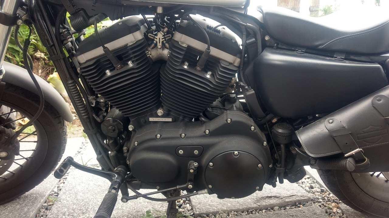 Harley Davidson Sportster Xl 883 R 2010 Motos